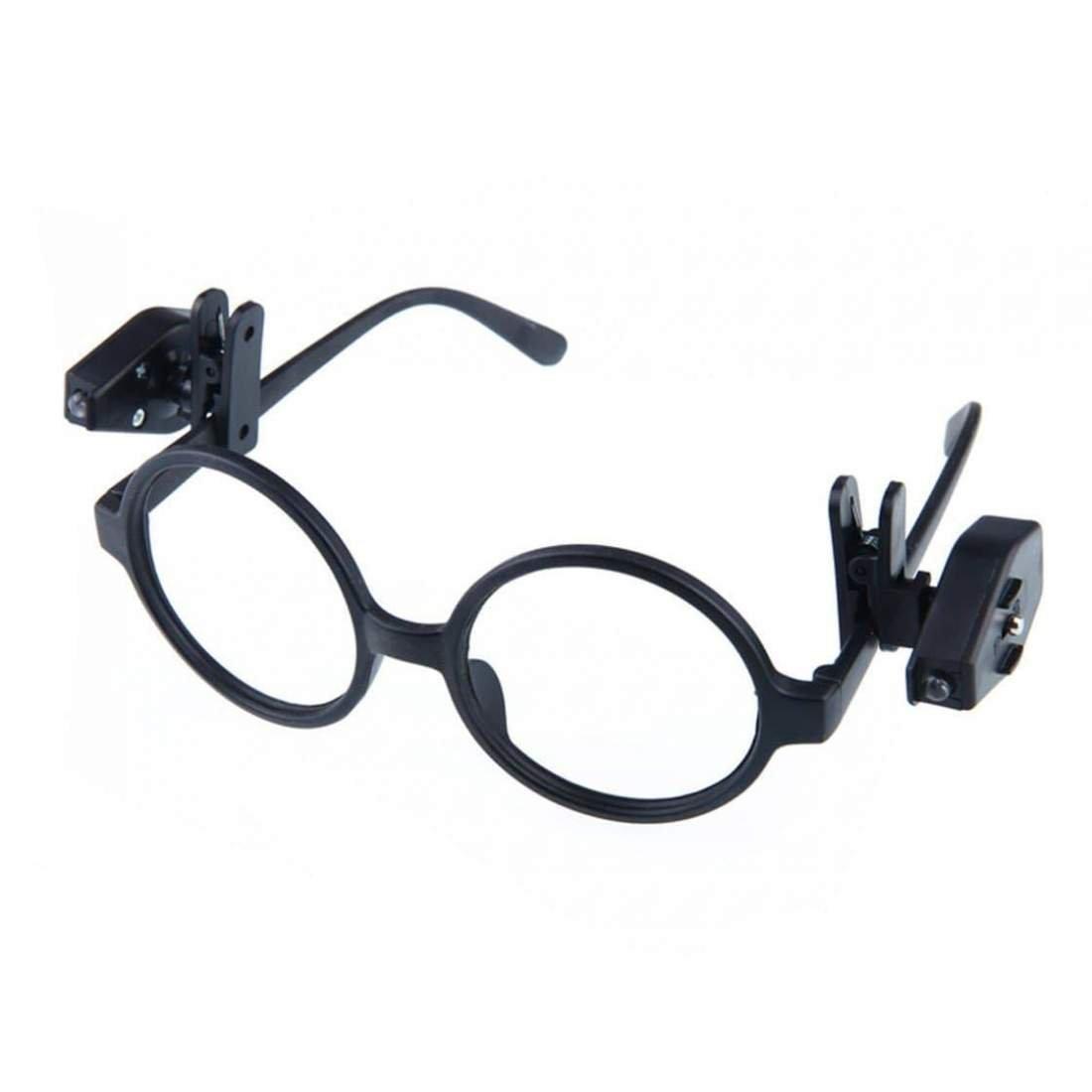 2x Klämma med LED Lampa för Glasögon | eStore